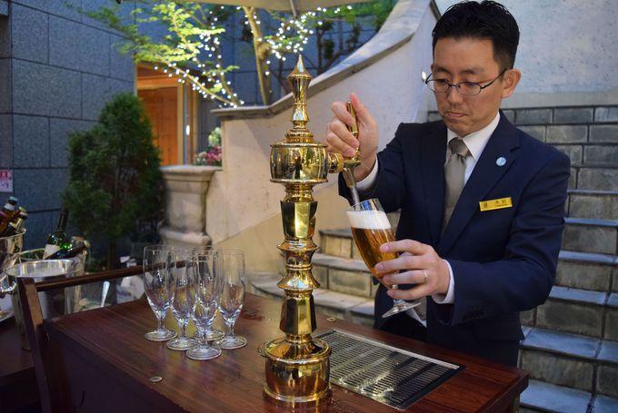 20種類もの国産・世界のビールが飲み放題!
