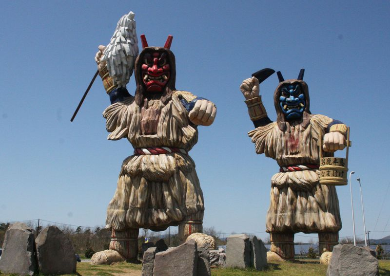 日本一低い山に巨大なまはげ!秋田・大潟村のドライブオススメルート
