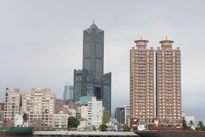 数々の台湾記録を塗り替えた「高雄85大樓」のライトアップも