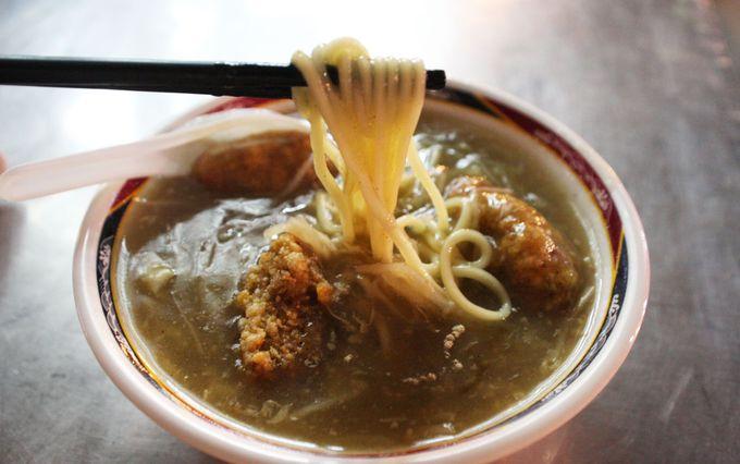 海鮮粥、海鮮饅頭、海鮮麺を食べ歩き