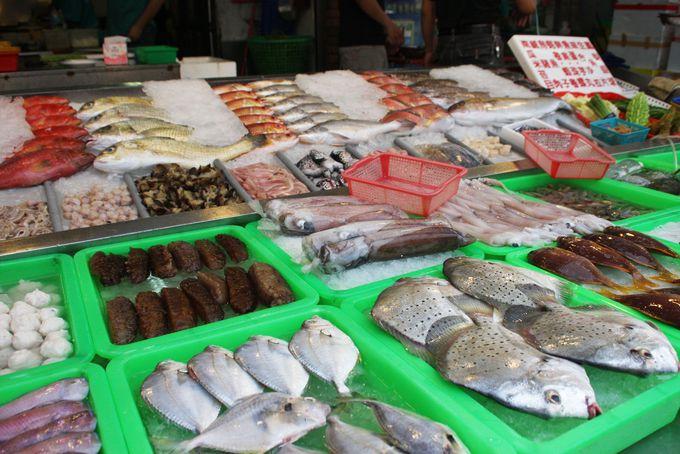 旗津観光のキーワードは夕日、海鮮グルメ