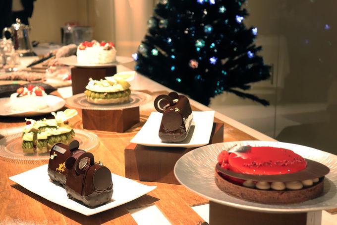 お土産には感動必至のクリスマスケーキを