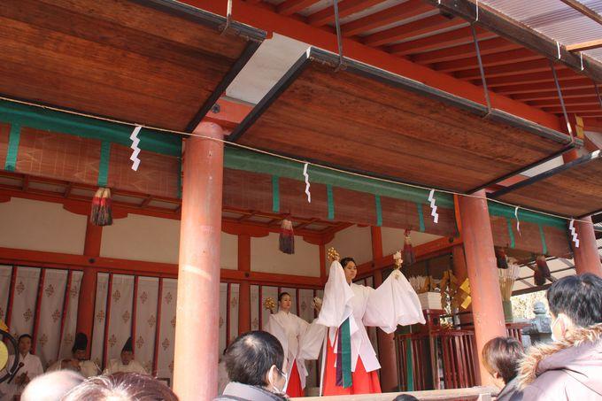 正月期間の八幡御神矢の清め祓い
