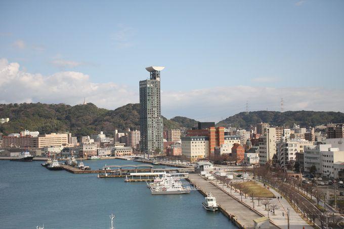 関門海峡の絶景とグルメを楽しむなら5階屋上へ