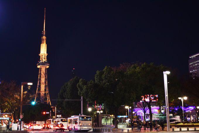 名古屋テレビ塔など観光地へのアクセス抜群