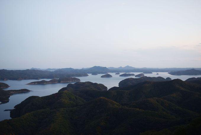 美しいリアス式海岸を一望「烏帽子岳展望所」