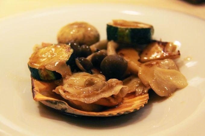 新鮮な魚介類をさまざまな調理法で