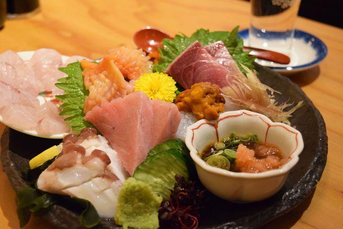 海鮮ならここ!「魚屋スタンドふじ子」&「築地食堂源ちゃん」