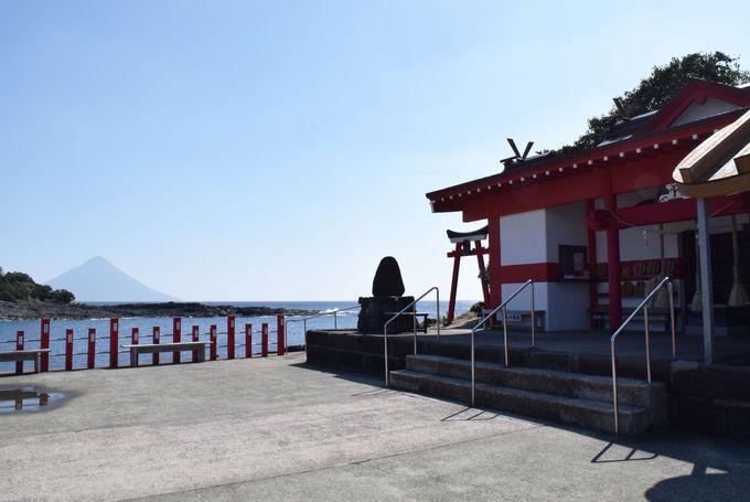 武の神様を祭る釜蓋神社