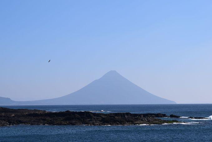 開聞岳の絶景スポット 希望の岬
