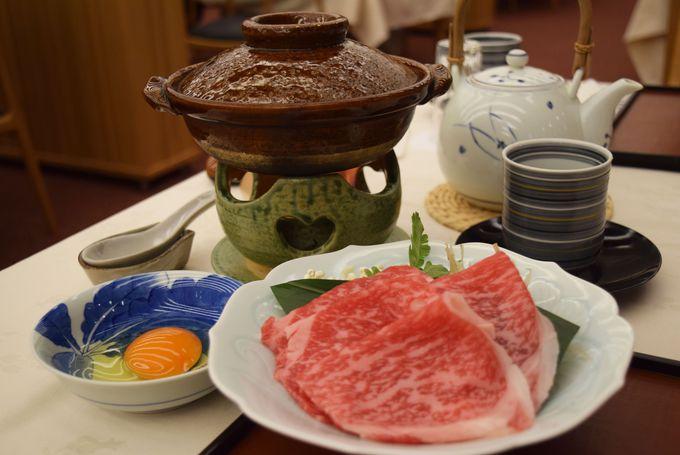 佐賀牛、嬉野米、とろける湯豆腐