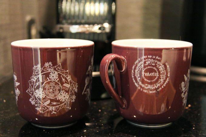 お風呂上りはスイスサークルのマグカップでTWG Teaを!