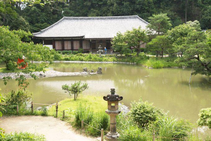 極楽浄土を表した庭園が美しい浄瑠璃寺