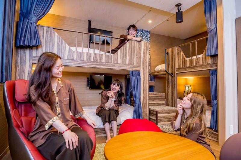 大阪の女子旅ならホテルバリタワー大阪天王寺!無料&かわいいが無限大!