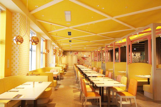 遊び心満足度満点のブッフェレストラン