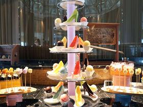 マンゴー&レモンのパステルスイーツブッフェ!スイスホテル南海大阪