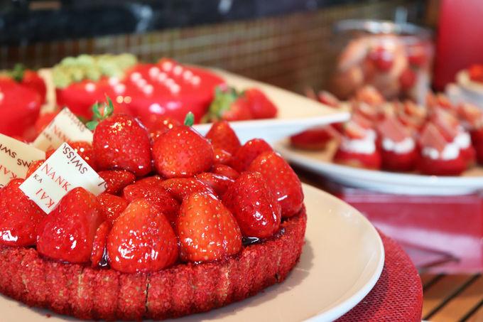 イチゴを存分に味わうならタルトは外せない!