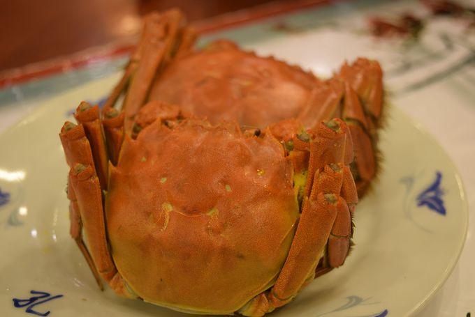 ランチ:上海蟹がリーズナブルに食べられる!