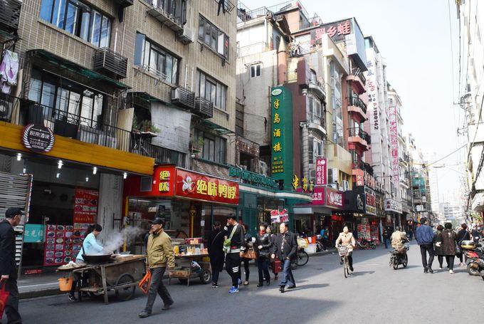 1日目午前:南京東路散策&美食グルメ街でランチ