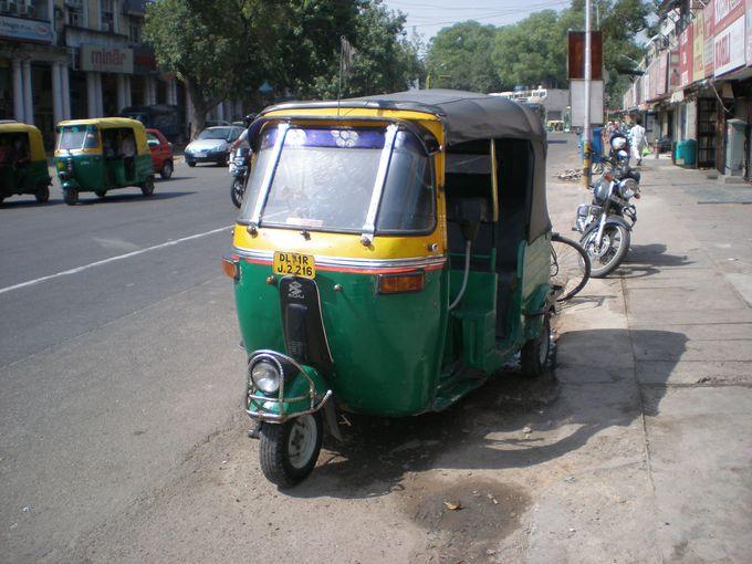 【交通】インドを堪能したいならオートリキシャを楽しめ!