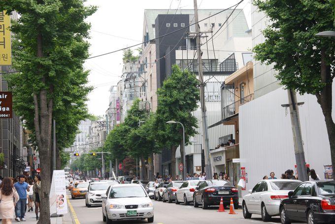 1日目PM:北村韓屋村〜スイーツ食べ歩き、夕方はおしゃれストリートへ