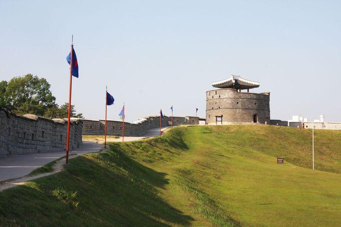 2日目AM:ソウル郊外へ韓国民俗村&世界遺産・水原華城