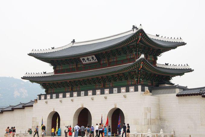 1日目AM:ソウルの人気観光地「景福宮」と極ウマ参鶏湯ランチ