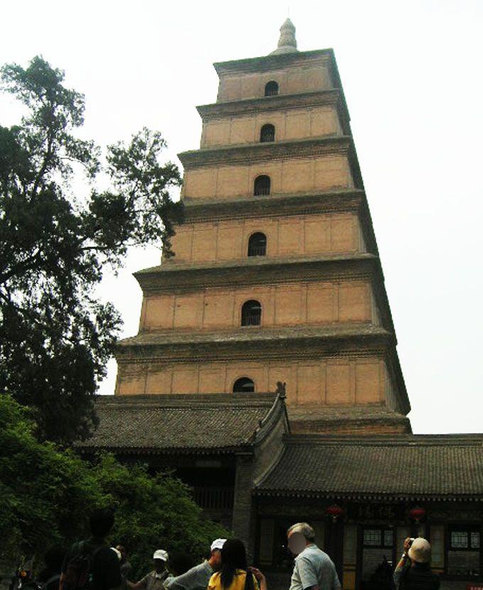 1日目PM:玄奘三蔵ゆかりの慈恩寺と陝西省歴史博物館
