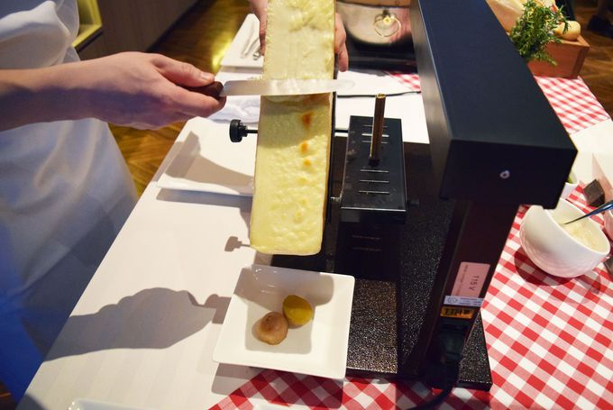 チーズ好き卒倒!スイスチーズに感動の嵐!