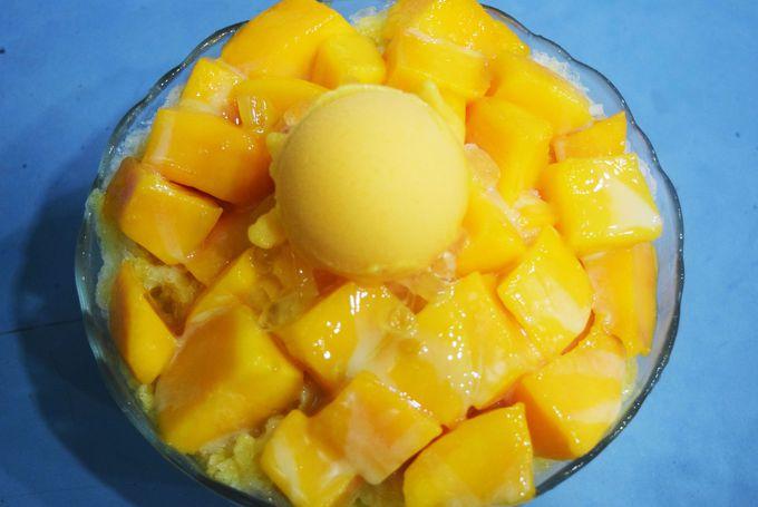 正港新鮮芒果牛奶冰は夏季限定!200元が高いか安いか