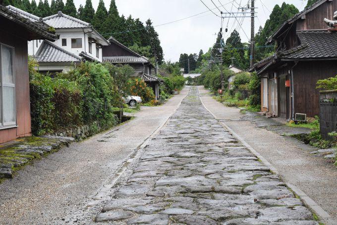 2日目AM:高瀬石仏&今市石畳で歴史探訪