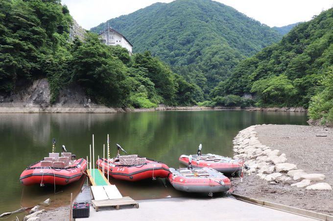 ながい百秋湖ボートツーリングの予約〜受付〜乗船