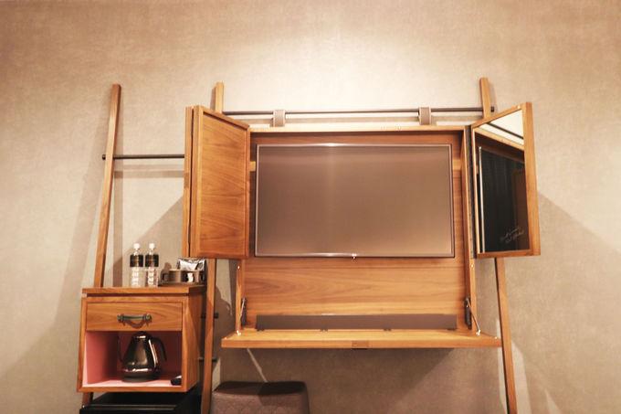 自宅でもマネしたいおしゃれアイテム満載の客室