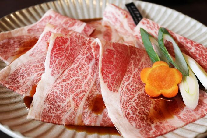 鹿児島県産黒毛和牛を特製黒酢タレで