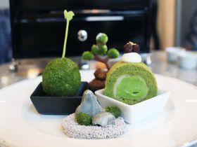 甘くて濃い八女茶を感じるアフタヌーンティー「スイスホテル南海大阪」