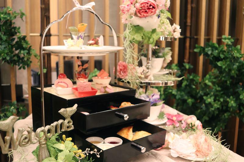 日比谷花壇の世界観が詰まったアフタヌーンティー「スイスホテル南海大阪」