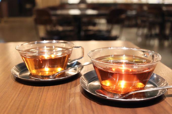 スタートは聞き茶から!オーガニックティーを香りから楽しむ