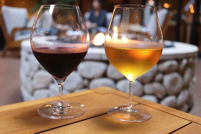 ノンアルコールなのに赤ワインを飲んでいるよう!