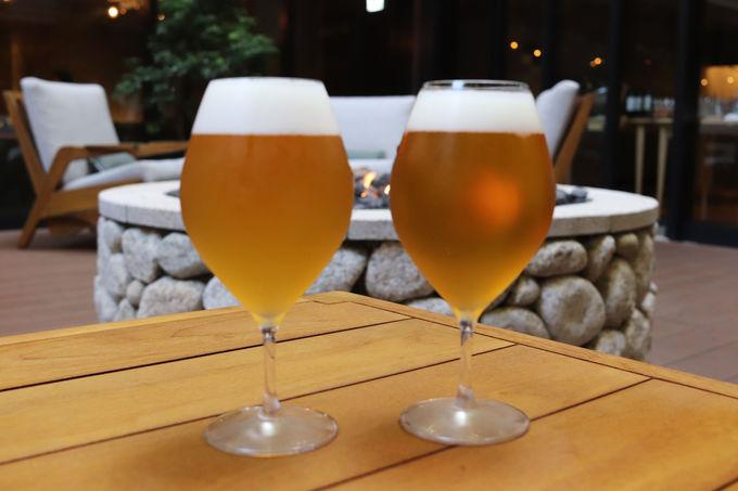 こだわりのクラフトビール2種がおススメ