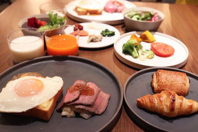 彩り豊かな野菜がとれる朝ごはんでエネルギーチャージ