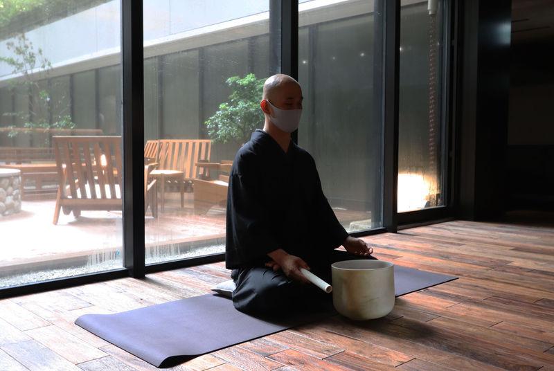 朝の瞑想で心と体を解き放つ!GOOD NATURE HOTEL KYOTO