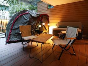 京都市内のホテルで森グランピング!GOOD NATURE HOTEL KYOTO