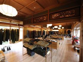 話題のOUTDOOR KIMONOで嵐山散歩!スノーピークランドステーション京都嵐山