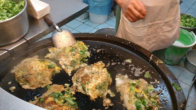牡蠣オムレツといったら「頼鶏蛋蚵仔煎」