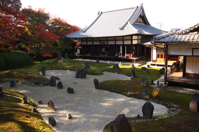 庭が美しい東福寺の境外塔頭「光明院」