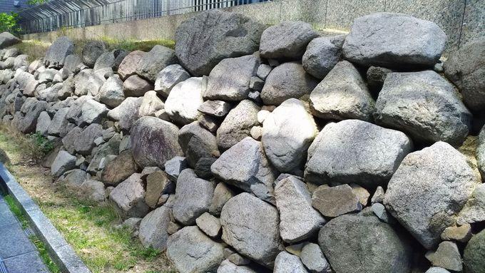 内堀の石垣を近くで見るなら大阪城御座船