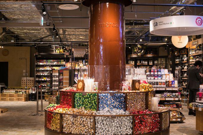 イタリアンフードマーケットでエスプレッソもサングリアもチョコも!