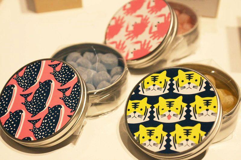 パパブブレとヒトツブカンロの大阪限定キャンディー