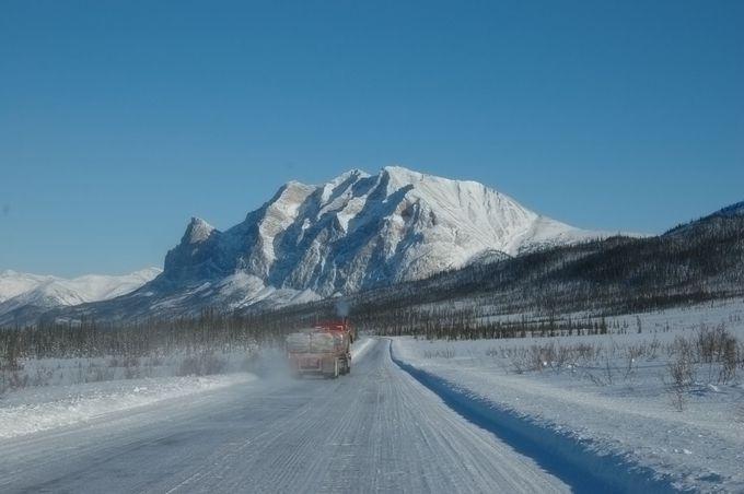 北極海へ続く道