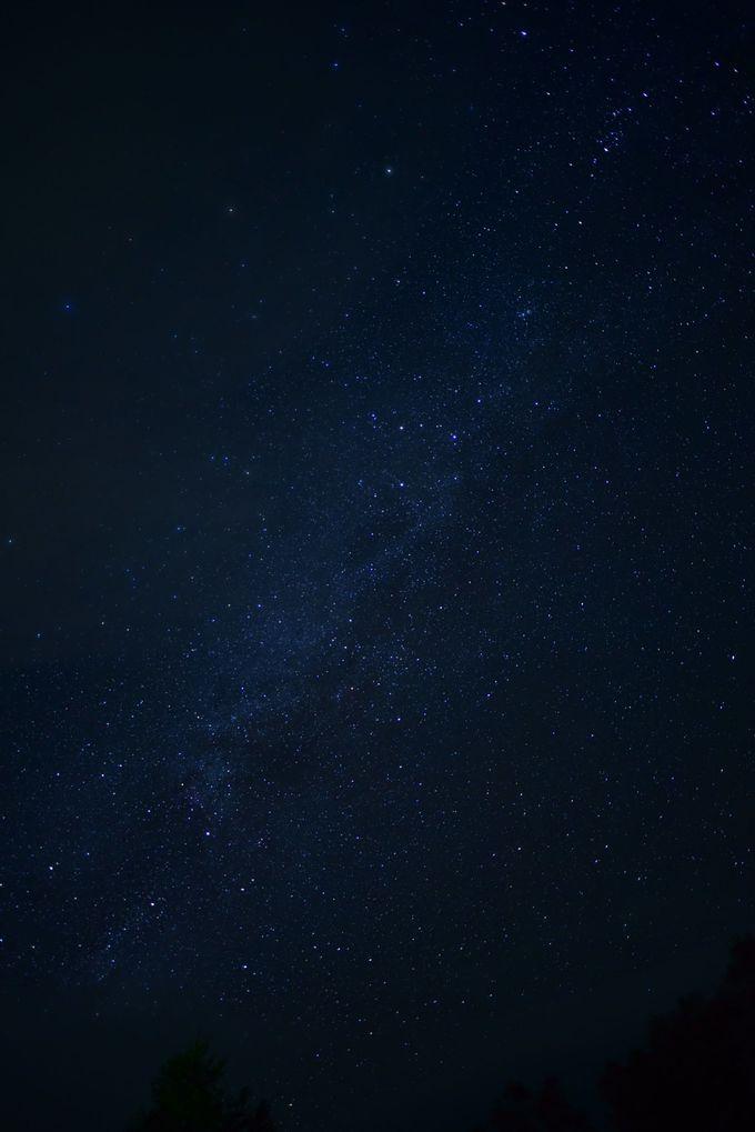 星空がサイコーにキレイ!